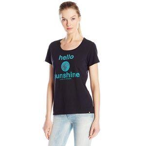 Life is good T-shirt hello sunshine scoop neck